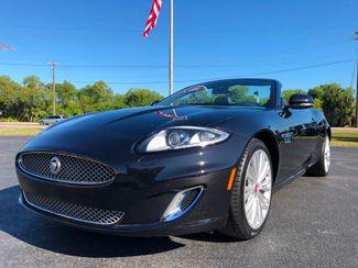 2012 Jaguar XK BLACK BLACK 2-OWNER CLEAN CONVERTIBLE   Florida  Bayshore Automotive   in , Florida