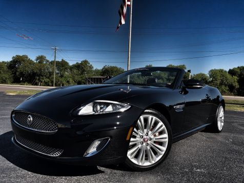 2012 Jaguar XK BLACK BLACK 2-OWNER CLEAN CONVERTIBLE in , Florida