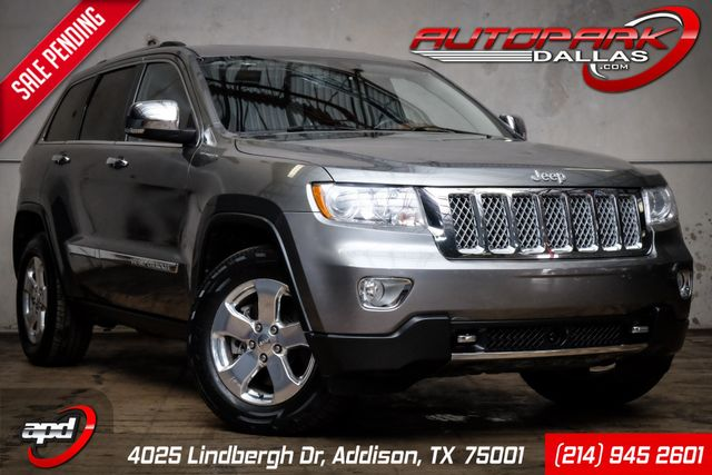 2012 Jeep Grand Cherokee Overland Summit Edition 5.7 Hemi 4x4 1-Owner in Addison, TX 75001