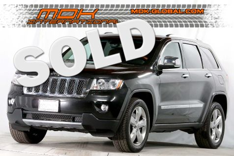 2012 Jeep Grand Cherokee Overland - AWD - Keless GO - Navigation in Los Angeles