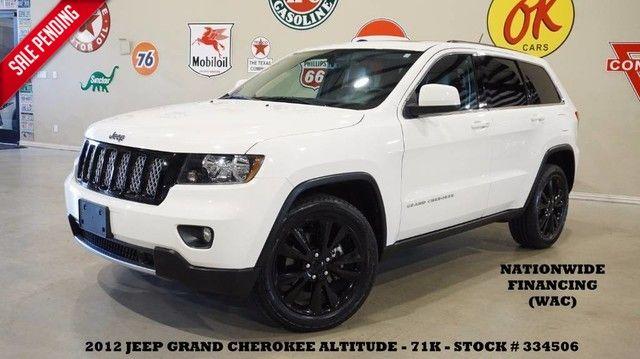 2012 Jeep Grand Cherokee Laredo Altitude