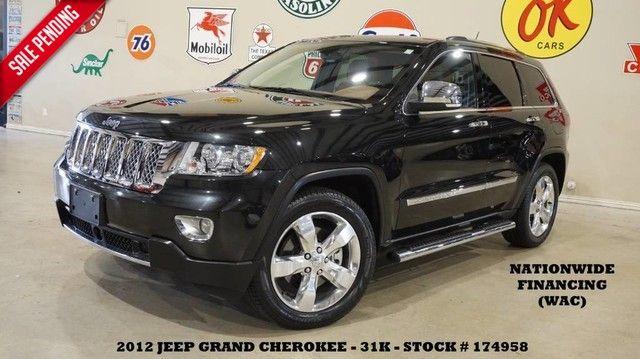 2012 Jeep Grand Cherokee Overland Summit 4X4 HEMI,PANO ROOF,NAV,HTD/COOL...