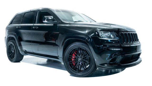 2012 Jeep Grand Cherokee SRT8 Bagged with Many Upgrades in Dallas, TX 75229