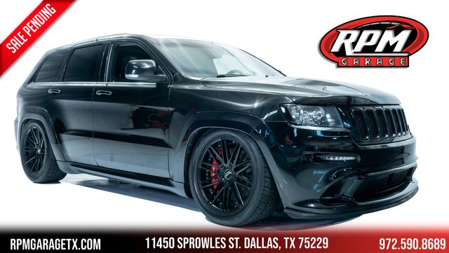 2012 Jeep Grand Cherokee SRT8 Bagged with Many Upgrades
