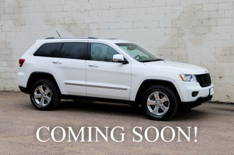 2012 Jeep Grand Cherokee Limited 4x4 SUV w/Navigation, Backup Cam, Panoramic Roof, Heated Seats & Tow Pkg in Eau Claire