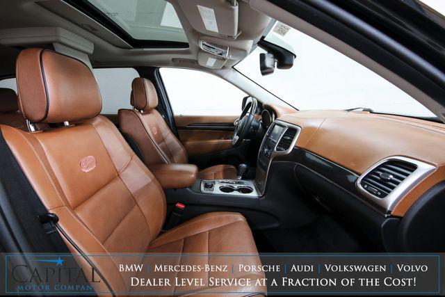 2012 Jeep Grand Cherokee Overland Summit 4x4 w/Nav, DVD Entertainment, Moonroof, Premium Audio & Tow Pkg in Eau Claire, Wisconsin 54703