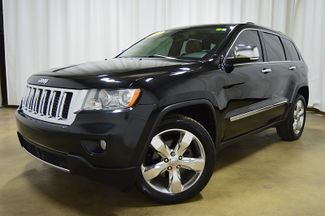 2012 Jeep Grand Cherokee Overland W Sunroof & Navi in Merrillville IN, 46410