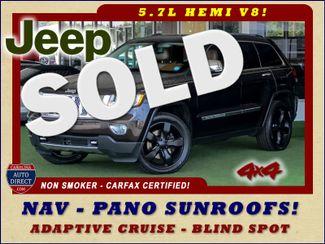 2012 Jeep Grand Cherokee Overland Summit 4x4 - 5.7L HEMI - NAV - SUNROOFS! Mooresville , NC