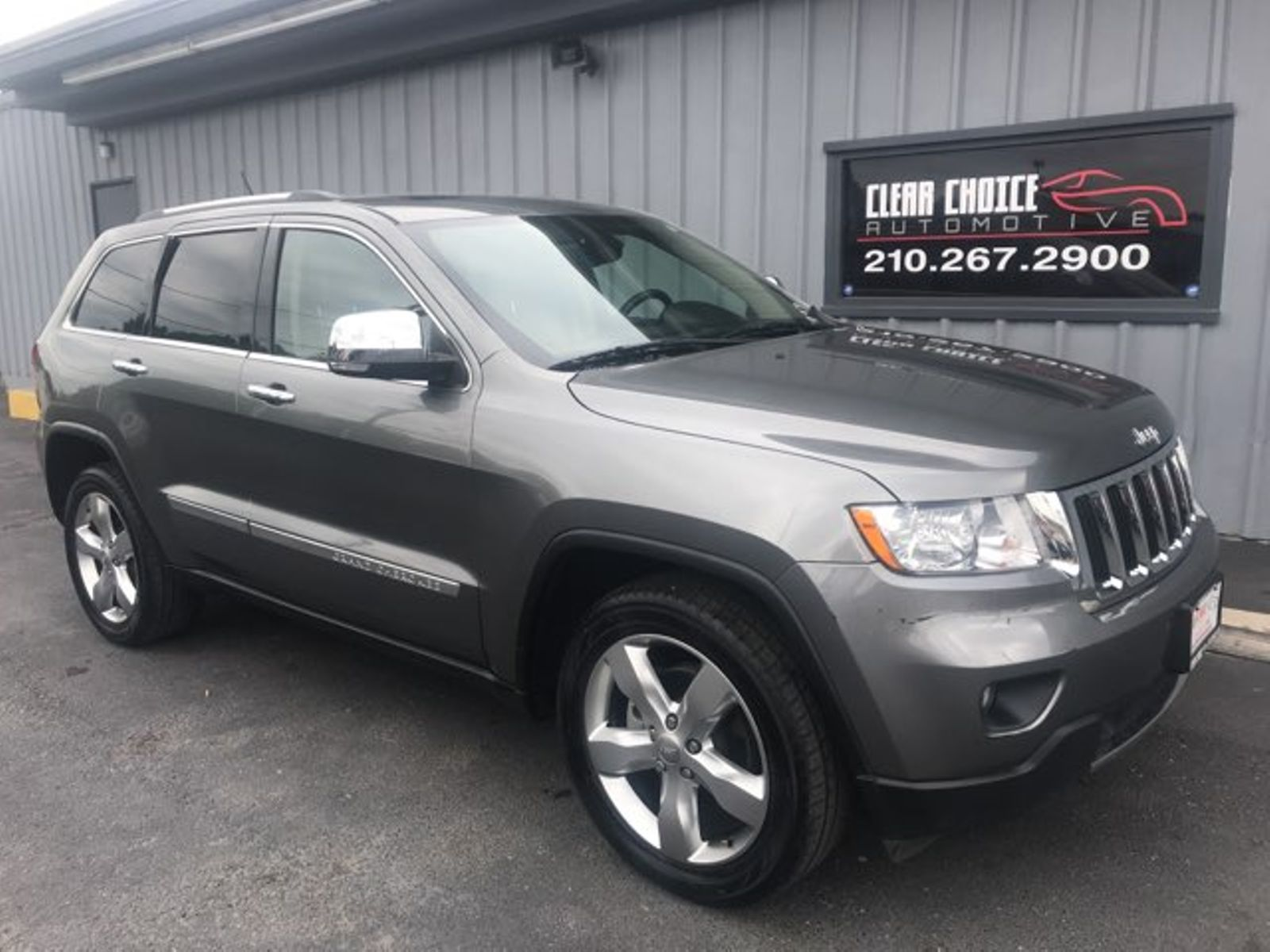 2012 Jeep Grand Cherokee Limited city TX Clear Choice Automotive