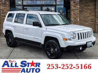2012 Jeep Patriot Latitude 4WD in Puyallup Washington, 98371