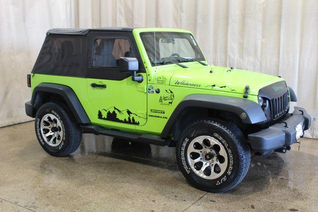 2012 Jeep Wrangler 4x4 Wilderness Edition in Roscoe, IL 61073