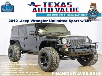 2012 Jeep Wrangler Unlimited Sport in Addison TX, 75001
