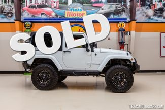 2012 Jeep Wrangler Sahara 4X4 in Addison Texas, 75001