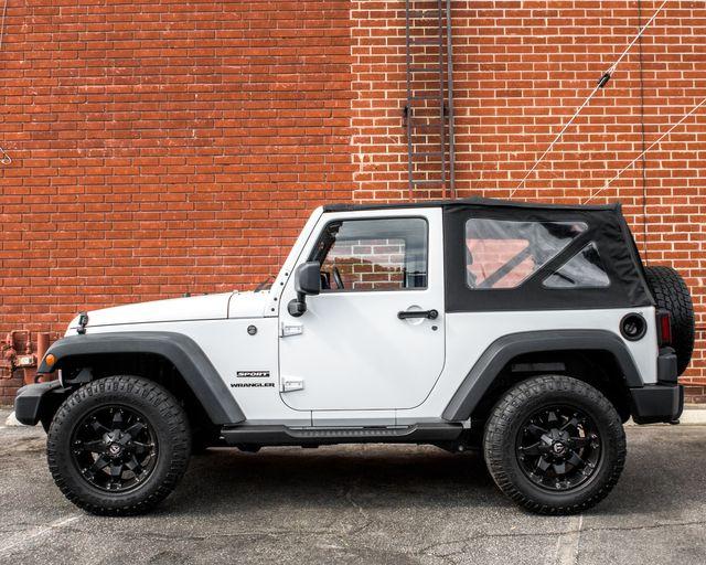 2012 Jeep Wrangler Sport Burbank, CA 4