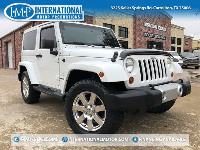 2012 Jeep Wrangler Sahara 4X4 Heated Seats