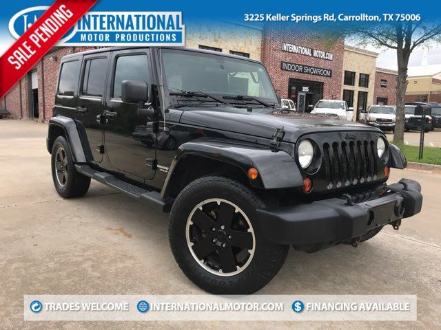 2012 Jeep Wrangler Unlimited Sahara ONE OWNER