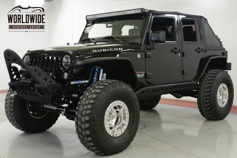 2012 Jeep WRANGLER RUBICON FULLY LOADED OVER THE TOP BUILD  | Denver, CO | Worldwide Vintage Autos