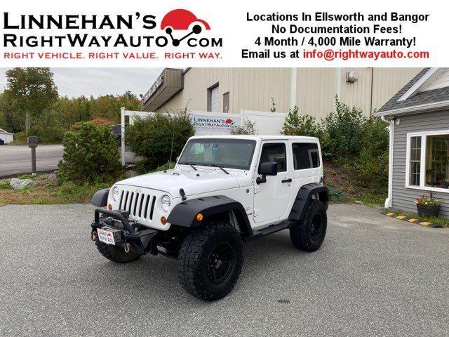 2012 Jeep Wrangler Sahara in Bangor, ME 04401