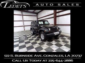 2012 Jeep Wrangler Sport - Ledet's Auto Sales Gonzales_state_zip in Gonzales