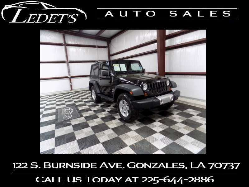2012 Jeep Wrangler Sport - Ledet's Auto Sales Gonzales_state_zip in Gonzales Louisiana
