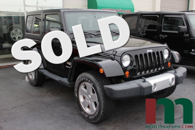 2012 Jeep Wrangler Sahara   Granite City, Illinois   MasterCars Company Inc. in Granite City Illinois