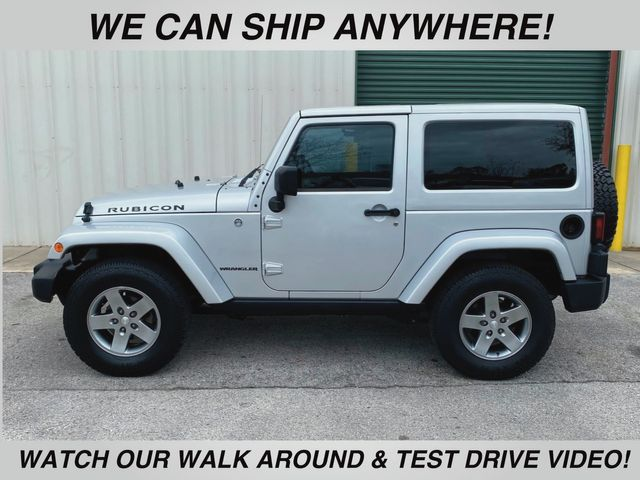 2012 Jeep Wrangler Rubicon 6 Speed manual