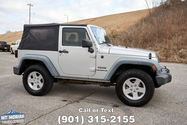 2012 Jeep Wrangler Sport in Memphis, Tennessee 38115