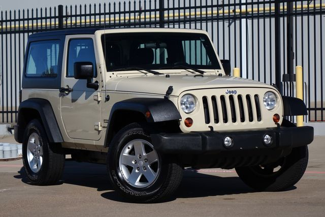 2012 Jeep Wrangler Sport *Hardtop*Automatic*Pwr Package* | Plano, TX | Carrick's Autos in Plano TX