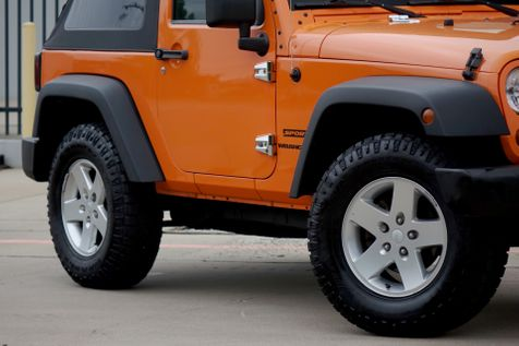 2012 Jeep Wrangler Sport*Manual*Soft Top* Only 86k mi** 4x4*   Plano, TX   Carrick's Autos in Plano, TX