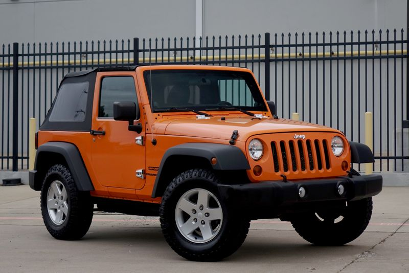 2012 Jeep Wrangler Sport*Manual*Soft Top* Only 86k mi** 4x4*   Plano, TX   Carrick's Autos in Plano TX