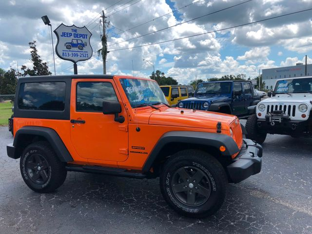 2012 Jeep Wrangler Sport Riverview, Florida 10