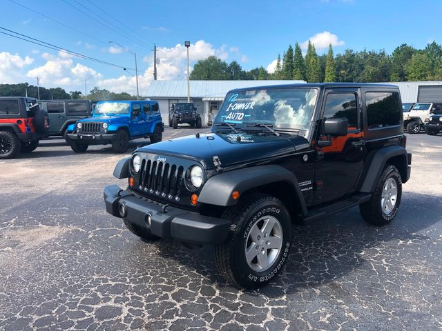 2012 Jeep Wrangler Sport in Riverview, FL 33578