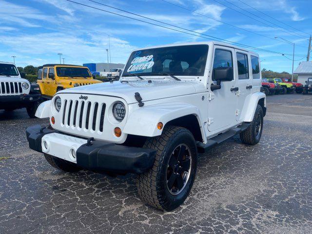 2012 Jeep Wrangler Unlimited Sahara Altitude Ed