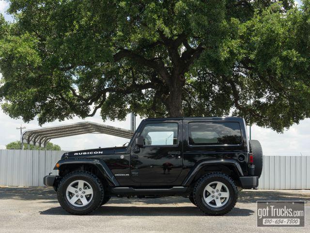 2012 Jeep Wrangler Rubicon 3.6L V6 4X4