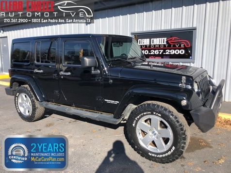 2012 Jeep Wrangler Unlimited Sahara in San Antonio, TX