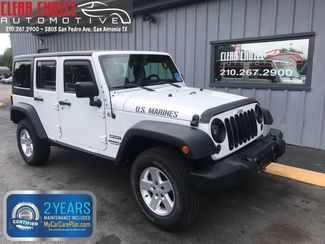 2012 Jeep Wrangler Unlimited Sport in San Antonio, TX 78212