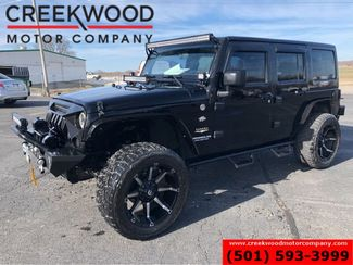 2012 Jeep Wrangler Unlimited Sahara 4x4 Auto Hardtop Black 20s Lifted EXTRAS in Searcy, AR 72143