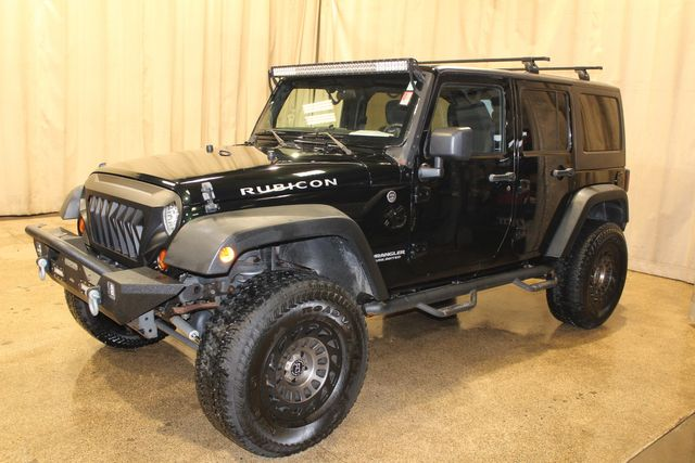 2012 Jeep Wrangler Unlimited 4x4 Rubicon in Roscoe, IL 61073
