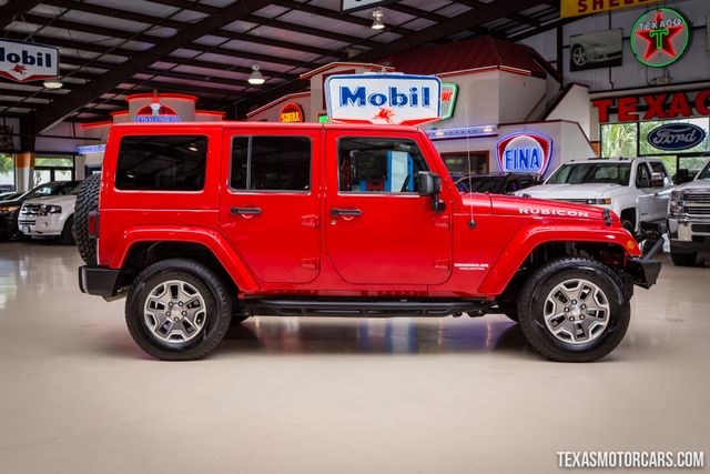 2012 Jeep Wrangler Unlimited Rubicon 4X4 in Addison Texas, 75001