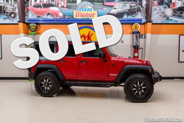 2012 Jeep Wrangler Unlimited Rubicon 4X4