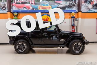 2012 Jeep Wrangler Unlimited Sahara 4X4 in Addison Texas, 75001