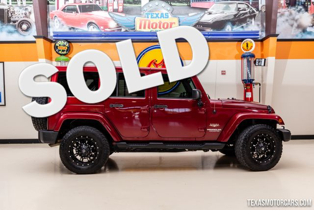 2012 Jeep Wrangler Unlimited Sahara 4X4 in Addison, Texas 75001
