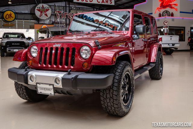 2012 Jeep Wrangler Unlimited Sahara 4X4 in Addison, Texas 75001