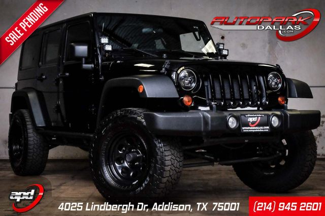 2012 Jeep Wrangler Unlimited Sport w/ upgrades in Addison, TX 75001