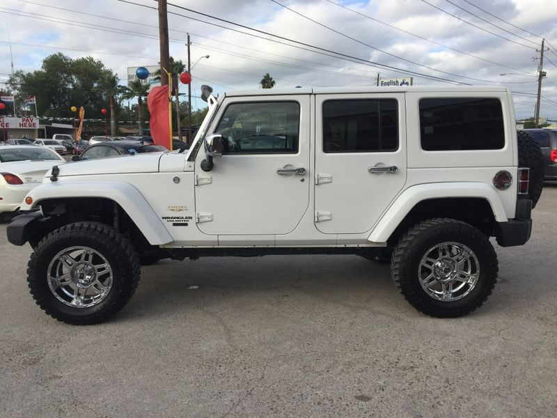 2012 Jeep Wrangler Unlimited Sahara  Brownsville TX  English Motors  in Brownsville, TX