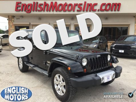 2012 Jeep Wrangler Unlimited Sahara in Brownsville, TX