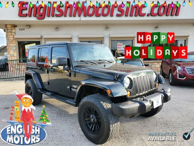 2012 Jeep Wrangler Unlimited Sahara