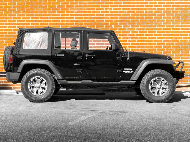 2012 Jeep Wrangler Unlimited Sport Burbank, CA 3