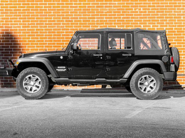 2012 Jeep Wrangler Unlimited Sport Burbank, CA 4