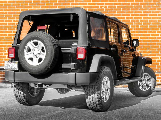 2012 Jeep Wrangler Unlimited Sport Burbank, CA 5